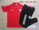 Ajax Polo Tracksuit Red 2020/21