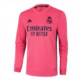Real Madrid Away Jersey Long Sleeve Mens 2020/21
