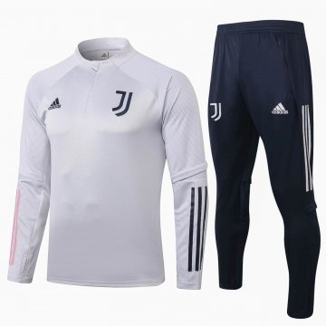 Juventus Training Suit Light Grey 2020/21