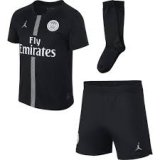 PSG Third Black Jersey Whole Kit 2018/19