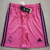 Real Madrid Away Soccer Jerseys Shorts Mens 2020/21