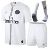 PSG Third White Jersey Whole Kit 2018/19