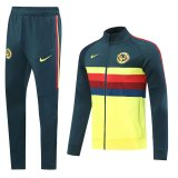 Club America Jacket Suit Yellow Mens 2020/21
