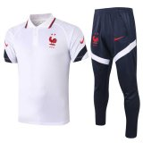 France Polo Tracksuit White 2020/21