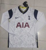 Tottenham Hotspur Home Soccer Jerseys Long Sleeve Mens 2020/21
