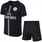 PSG Third Black Jersey Kit 2018/19