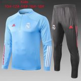Kids Manchester United Training Suit Blue 2020/21