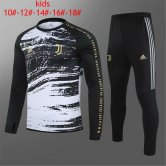 Kids Juventus Training Suit Black 2020/21