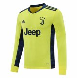 Juventus Yellow Goalie Jersey Long Sleeve Mens 2020/21