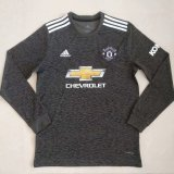Manchester United Away Soccer Jersey Long Sleeve 2020/21
