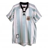 Argentina Home Retro Jersey Mens 1998