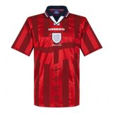England Retro Away Jersey Mens 1998