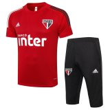 Sao Paulo FC Short Training Suit Red 2020/21