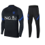 Netherlands Sweater + Pants Training Suit Black 2020/21