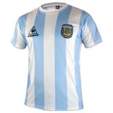 Argentina Home Retro Soccer Jerseys Mens 1986