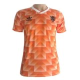 Netherlands Home Retro Jersey Mens 1988