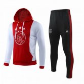 2019-2020 Ajax Hoodie Sweatshirt + Pants Suit Red