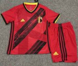 Belgium Home Soccer Jerseys Kit Kids 2020