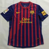 Barcelona Retro Home Soccer Jerseys Mens 2011/12 with patches