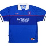 Rangers Retro Home Soccer Jerseys Mens 1997/98