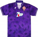 ACF Fiorentina Retro Home Soccer Jerseys Mens 1992-1993