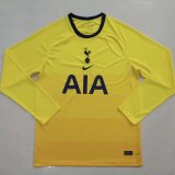 Tottenham Hotspur Third Soccer Jerseys Long Sleeve Mens 2020/21