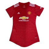 Manchester United Home Jersey Womens 2020/21