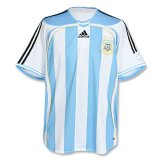 Argentina Home Retro Soccer Jerseys Mens 2006