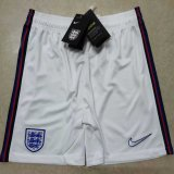 England Home White Shorts Mens 2020
