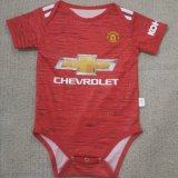 Manchester United Home Baby Infant Suit 2020/21