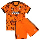Juventus Third Soccer Jerseys Kit Kids 2020/21