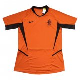 Netherlands Home Retro Jersey Mens 2002