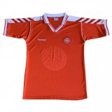 Denmark Home Retro Soccer Jerseys Mens 1998