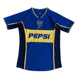 Boca Juniors Retro Home Soccer Jerseys Mens 2002