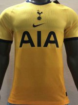 Tottenham Hotspur Away Yellow Soccer Jerseys Mens 2020/21 (Player Version)