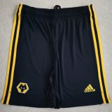 Wolverhampton Wanderers Home Soccer Shorts 20/21