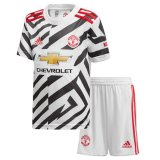 Manchester United Third Soccer Jersey Kit Kids 2020/21