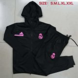 Real Madrid Windbreaker Black 2020/21