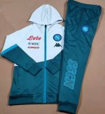 Napoli Green Hoody Zipper Jacket Tracksuit 2020/21