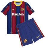 Barcelona Home Soccer Jerseys Kit Kids 2020/21