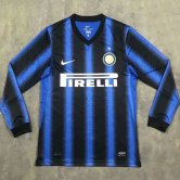 Inter Milan Retro Home Jersey Long Sleeve Mens 2010/11