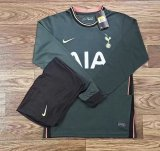 Tottenham Hotspur Away Soccer Jerseys Long Sleeve Mens 2020/21