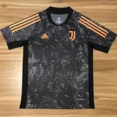 Juventus Goalie Soccer Jerseys Black Mens 2020/21