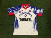 PSG Retro Away Soccer Jerseys Mens 1993-1994