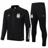 Argentina Jacket + Pants Training Suit Black 2020/21