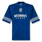 Rangers Retro Home Soccer Jerseys Mens 1995/96