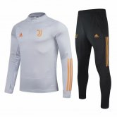 Juventus Training Suit UCL Grey 2020/21