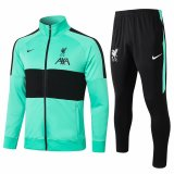 2020/21 Liverpool Green Jacket Tracksuit