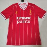 Liverpool Retro Red Jersey Mens 1981-1982