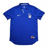 Italy Retro Home Soccer Jerseys Mens 1998 World Cup